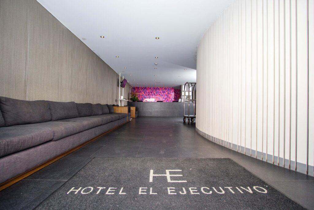Recepción hotel el ejecutivo