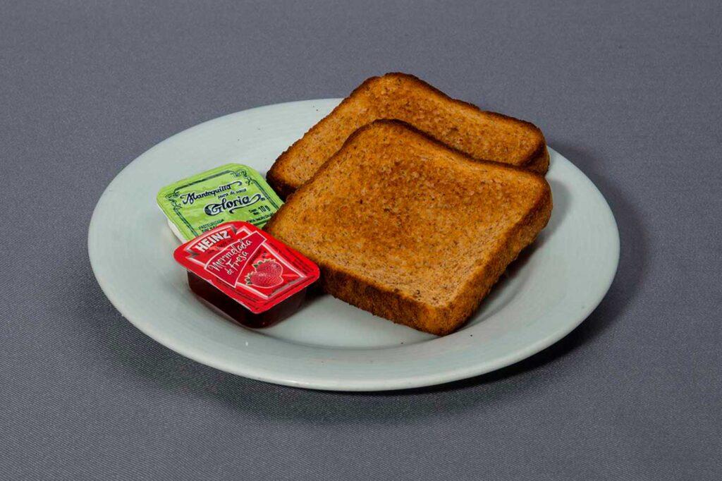 Orden de pan tostado