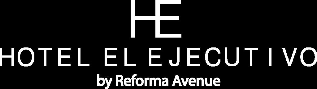 Logo hotel el ejecutivo blanco